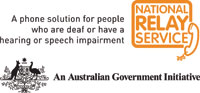 speechBITE is supported by the National Relay Service